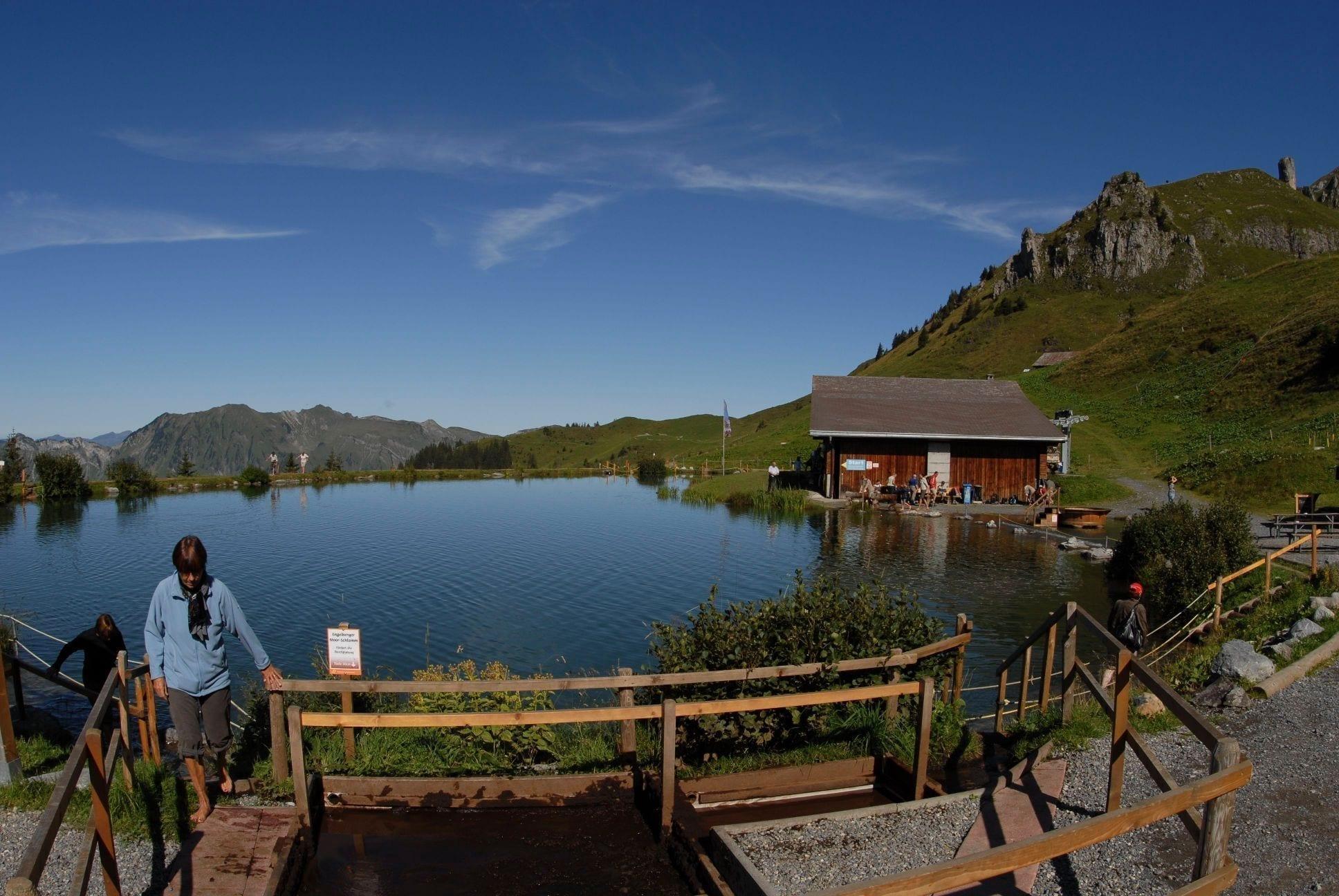 Klettersteig Brunni : Engelberg brunni ow kneippanlage kitzelpfad härzlisee