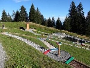 Kneippanlage und Barfussweg - Wassertretanlage Pizol - Bad Ragaz