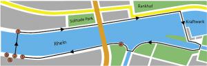 Kneipp-Parcours und Kneippanlage am Rhein - Basel