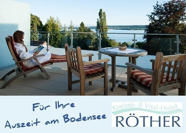 Kneipp- & Vital-Hotel Röther in Überlingen - Auszeit am Bodensee