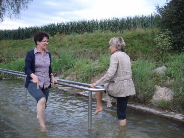 Kneippverein Muri-Freiamt Event - Kneippanlage Kneippkur und Anwendung Wassertreten