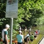Wassertreten Drei Weihern Kneippverein St. Gallen