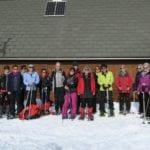 Schneeschuhwandergruppe
