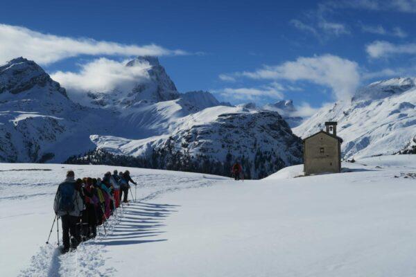Alp Flix beim Abstieg