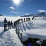 Alp Flix bei warmen Temperaturen