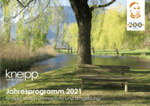 Jahresprogramm 2021 Frontseite