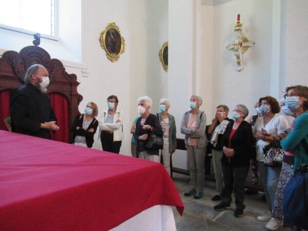 Führung im Kloster
